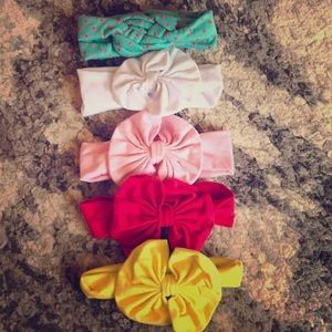 Other - 5 NEW never worn baby headbands